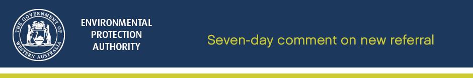 Seven day public comment